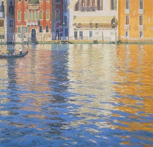 grand canal, summer by nicholas verrall