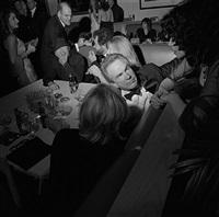 oscar party, warren beatty, los angeles, march, 2001 by larry fink
