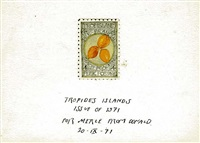 tropides islands (peach poaching) by donald evans