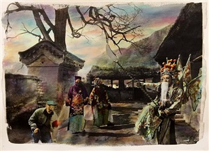 basel show, peking opera #1 by chen nong