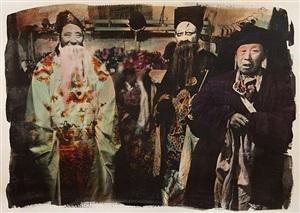 basel show, peking opera #4 by chen nong