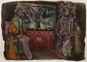 basel show, peking opera #7 by chen nong