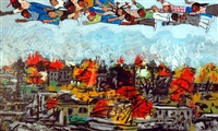 anyone can fly by faith ringgold