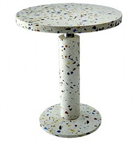 kyoto round table by shiro kuramata