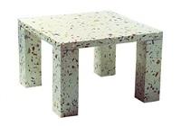 nara square table by shiro kuramata
