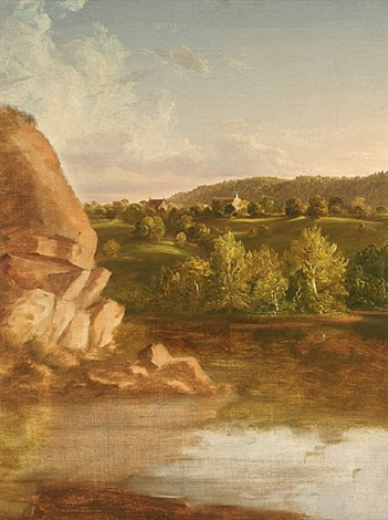 on catskill creek by thomas cole