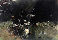 field flowers by andrew wyeth