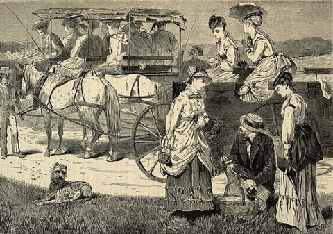 the picnic excursion by winslow homer