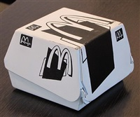 big mac box by tom sachs
