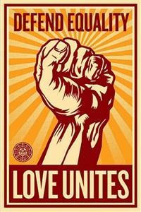 love unites by shepard fairey