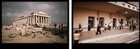the instant and the moment, greece by eve sonneman