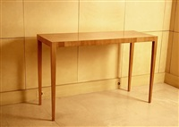 table console en sycomore by jean-michel frank
