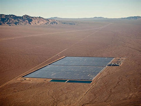 concentrated solar, clark county, nevada by alex maclean