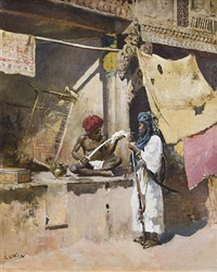 polishing the sword by edwin lord weeks