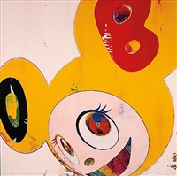 and then dob lemon pepper by takashi murakami