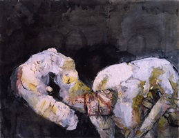 sex with dumplings by georg baselitz