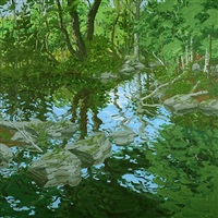 maine woodland by neil welliver
