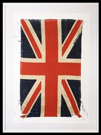 union jack ii (white) by peter blake
