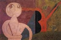 hombre y su sombra by rufino tamayo