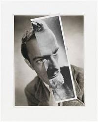 he (film portrait collage) ii by john stezaker