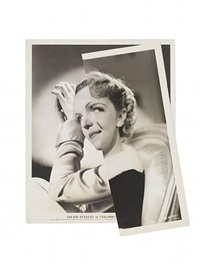 she (film portrait collage) v by john stezaker