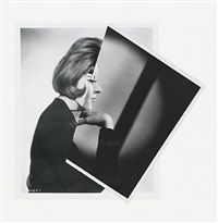 she (film portrait collage iii) by john stezaker