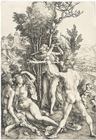 hercules at the crossroads by albrecht dürer