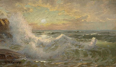 new england coast by william trost richards
