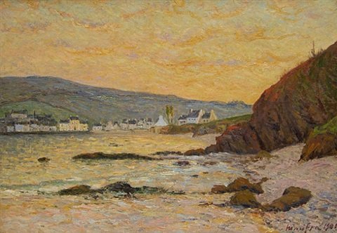 le village, morgat by maxime maufra