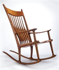rocker (no. 43) by sam maloof