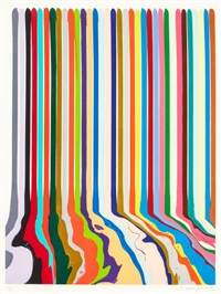 etched lines: thirty four by ian davenport