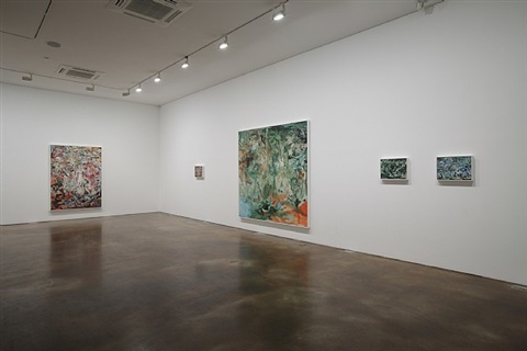 exhibition view by cecily brown