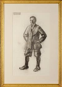 standing man in knickers by edward hopper