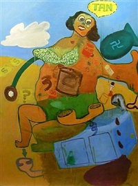 girl i by peter saul