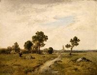 paysage by narcisse virgile diaz de la peña