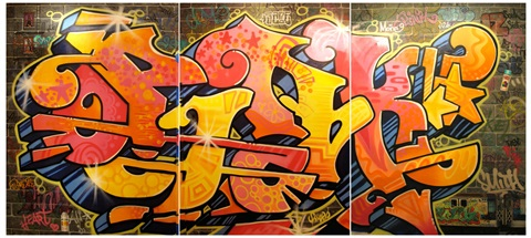 pink in 1980s graffiti world by lady pink