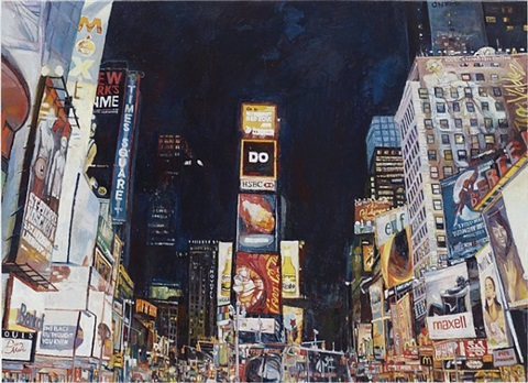 times square by keith mayerson
