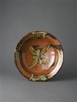 bowl, iron glaze by shoji hamada
