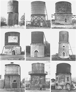 water towers: (bahnhof) by bernd and hilla becher