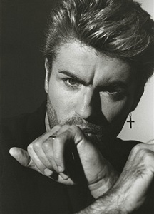 george michael 1, los angeles by herb ritts