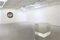 vue de l'exposition 'almost nothing', kamel mennour, paris, 2011 by anish kapoor