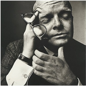 truman capote, new york by irving penn