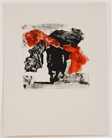 untitled (five lithographs vi) by esteban vicente