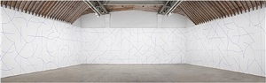 installation view by sol lewitt