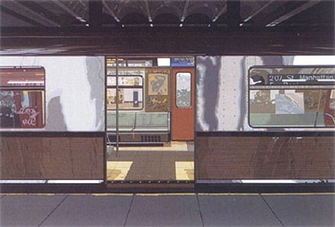 subway by richard estes