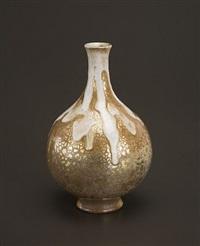 bottle form vase by raoul lachenal