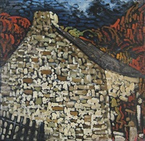 maison en pierres (sold) by marc-aurèle fortin