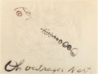 oh! outrages nest by morris graves