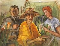 in the garden by marie-louise von motesiczky