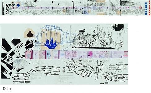 rirkrit tiravanija untitled 2008-2011 the map of the land of feeling i-iii by rirkrit tiravanija